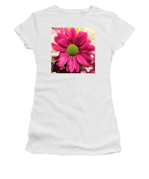 Magenta Chrysanthemum Women's T-Shirt