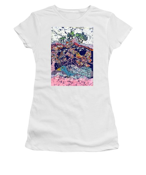 Magical Birds Women's T-Shirt (Athletic Fit)