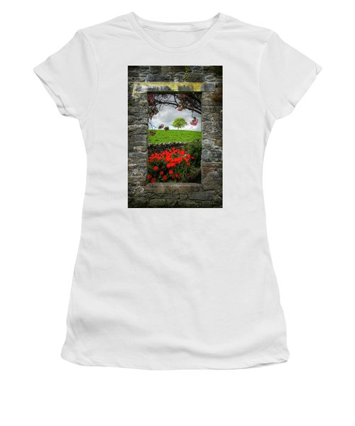 Women's T-Shirt (Athletic Fit) featuring the photograph Magical County Clare Countryside by James Truett