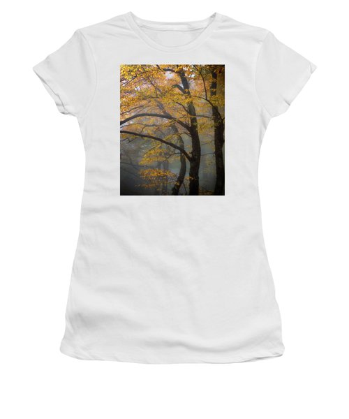 Magical Forest Blue Ridge Parkway Women's T-Shirt