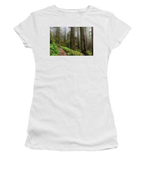 Magical Forest Women's T-Shirt (Junior Cut) by Scott Warner