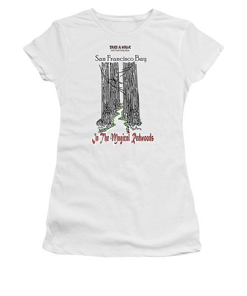 Magical Redwoods  Women's T-Shirt (Athletic Fit)