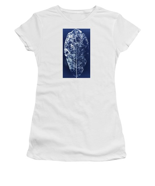 Magnolia Leaf Skeleton Women's T-Shirt