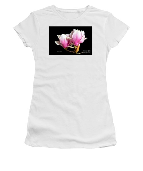 Magnolias In Spring Bloom Women's T-Shirt (Athletic Fit)