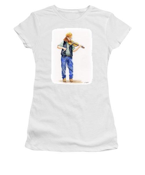Main Street Minstrel 1 Women's T-Shirt