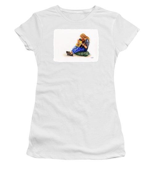 Main Street Minstrel 2 Women's T-Shirt