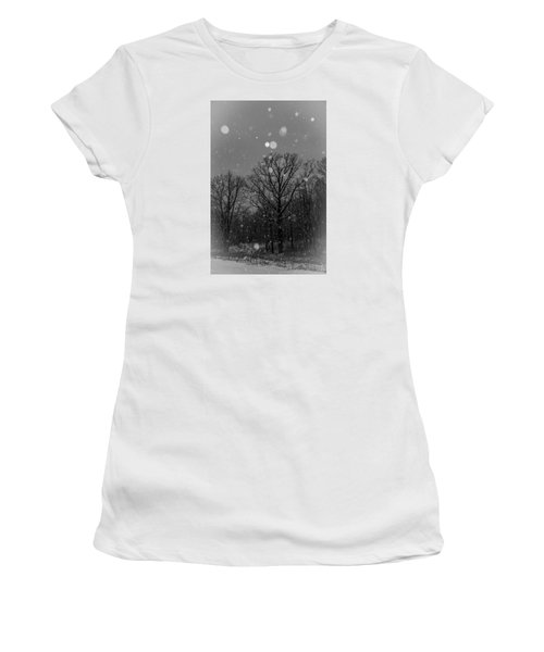 Women's T-Shirt (Junior Cut) featuring the photograph Majestic  by Annette Berglund
