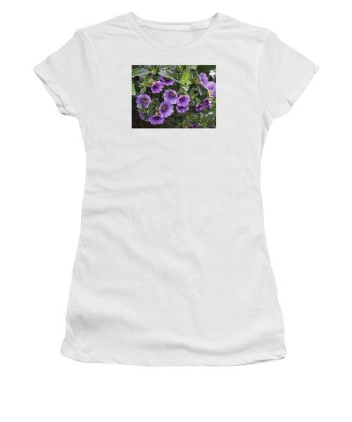 Mallow Women's T-Shirt (Junior Cut) by Larry Capra