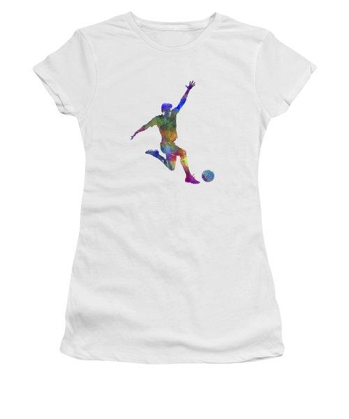 Man Soccer Football Player 05 Women's T-Shirt