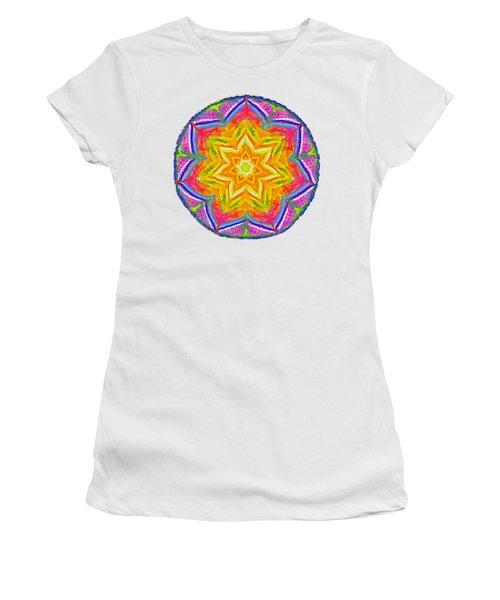 Mandala 12 20 2015 Women's T-Shirt (Junior Cut) by Hidden Mountain