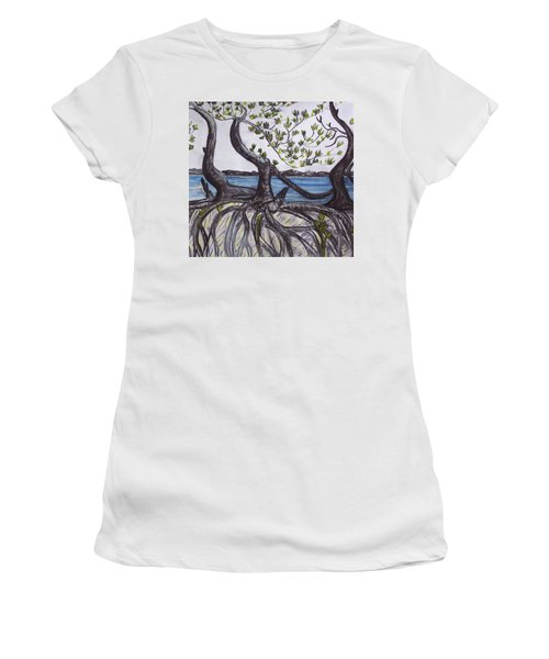 Mangroves Women's T-Shirt (Athletic Fit)