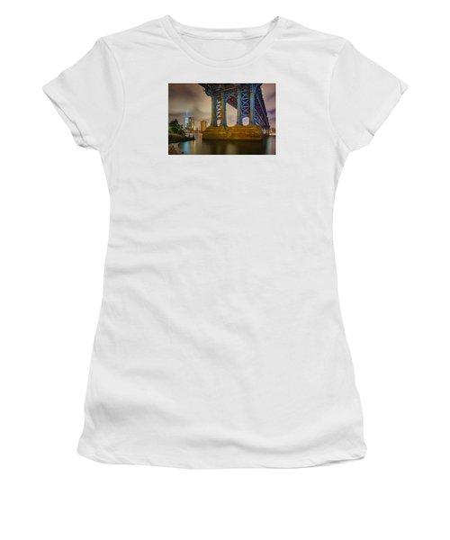 Manhattan Steel Women's T-Shirt (Athletic Fit)