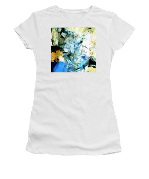 Women's T-Shirt (Junior Cut) featuring the painting Manifestation by Dominic Piperata