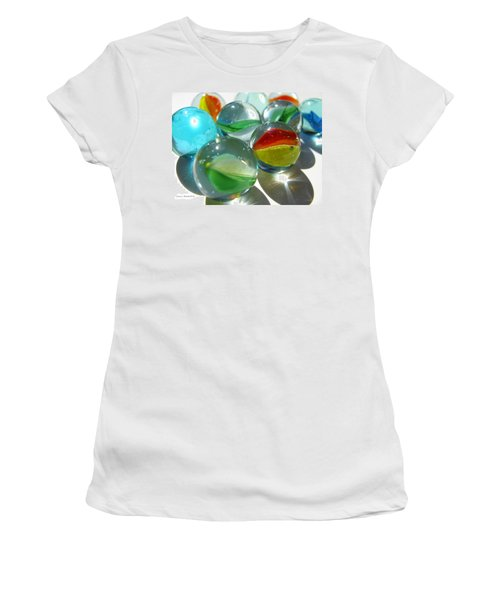 Marbles Women's T-Shirt (Athletic Fit)