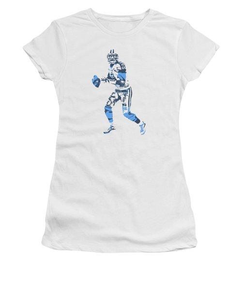 Marcus Mariota Tennessee Titans Pixel Art T Shirt 1 Women's T-Shirt