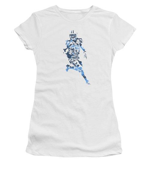Marcus Mariota Tennessee Titans Pixel Art T Shirt 3 Women's T-Shirt