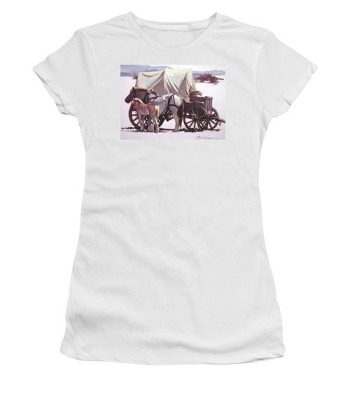 Mare's Pride Women's T-Shirt (Athletic Fit)