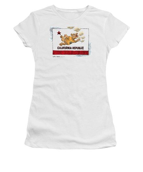 Marijuana Referendum In California Women's T-Shirt