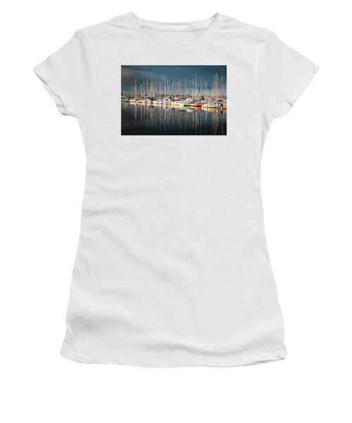 Marina Sunset 4 Women's T-Shirt
