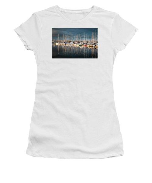Marina Sunset 4 Women's T-Shirt (Athletic Fit)