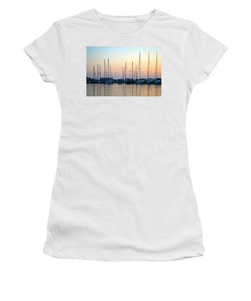 Marine Reflections Women's T-Shirt (Athletic Fit)
