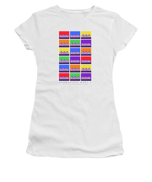 Mary Montage Women's T-Shirt