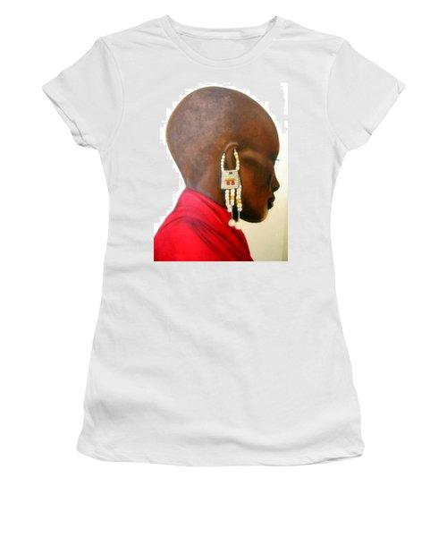 Masai Woman - Original Artwork Women's T-Shirt