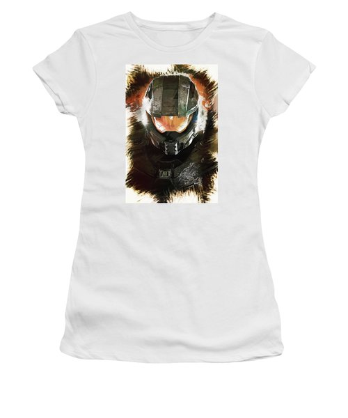Master Chief Women's T-Shirt (Athletic Fit)