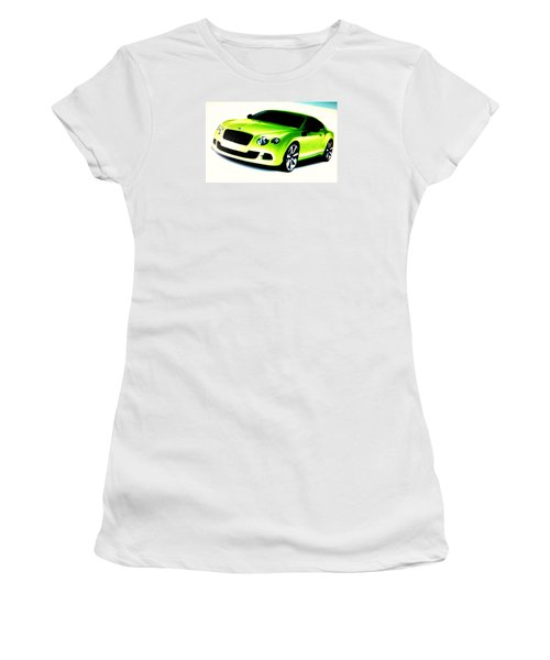 Matchbox Bentley Women's T-Shirt (Athletic Fit)