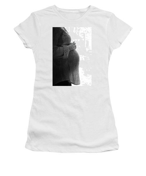 Maternity Silhouette Women's T-Shirt