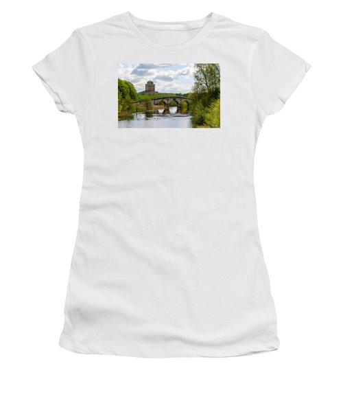 Mausoleum Women's T-Shirt (Athletic Fit)