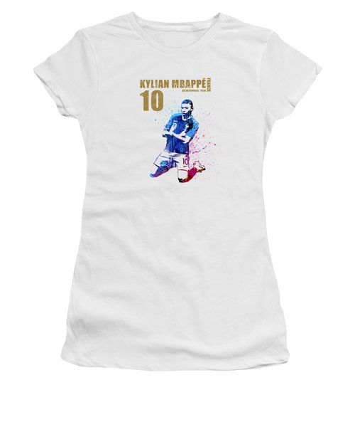 Mbappe #gold #world Cup 2018 #france Women's T-Shirt