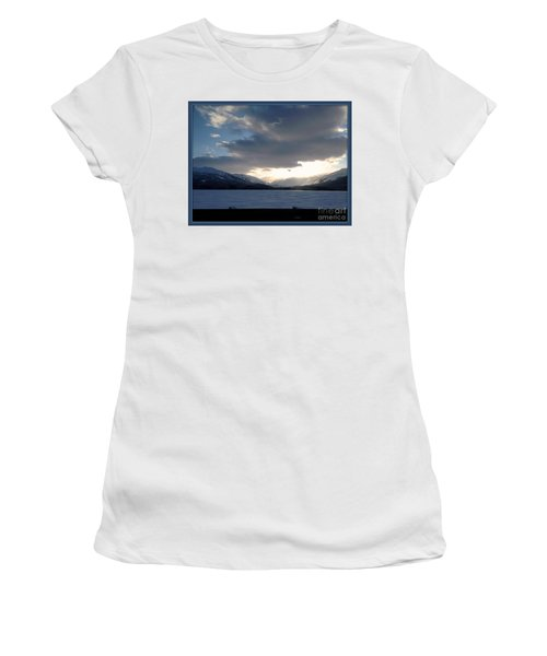 Women's T-Shirt (Athletic Fit) featuring the photograph Mckinley by James Lanigan Thompson MFA