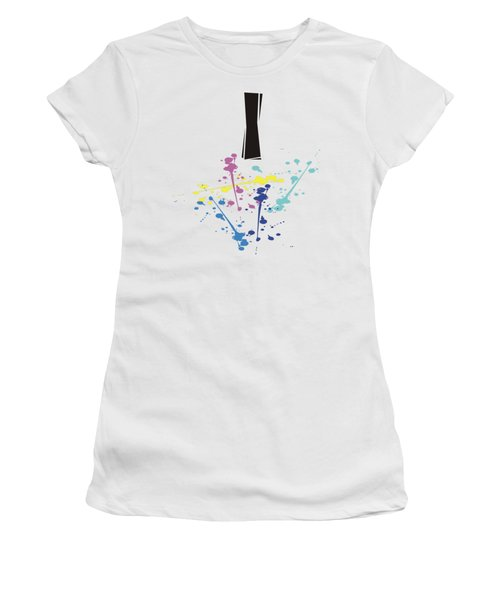 Me Myself And I Women's T-Shirt (Junior Cut) by Jacquie King