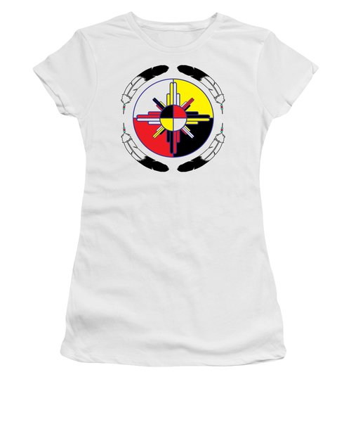 Medicine Wheel Women's T-Shirt (Athletic Fit)