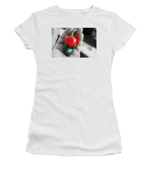 Medio Maduro Misterioso Women's T-Shirt (Junior Cut) by Gerhardt Isringhaus