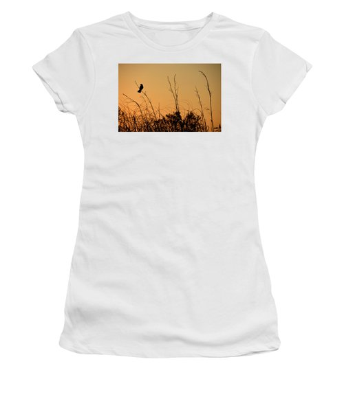 Melody At Dusk Women's T-Shirt (Athletic Fit)