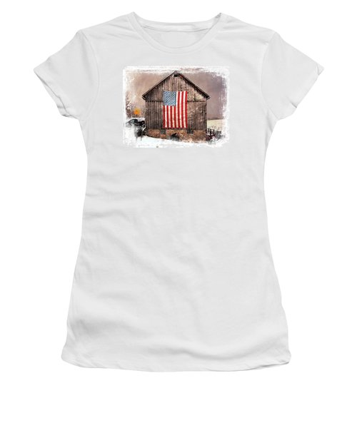 Merica IIi Women's T-Shirt (Athletic Fit)