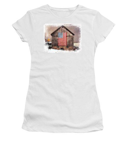 Merica IIi Women's T-Shirt (Athletic Fit)