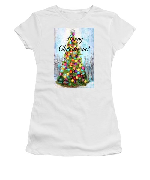 Merry And Bright Women's T-Shirt