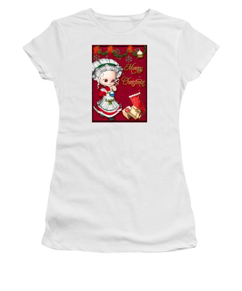 Merry Christmas Women's T-Shirt (Athletic Fit)
