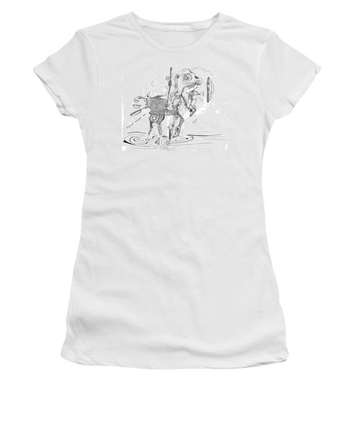 Merry-go-round Horse Women's T-Shirt