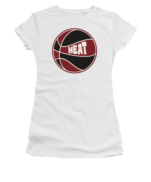 Miami Heat Retro Shirt Women's T-Shirt (Junior Cut)