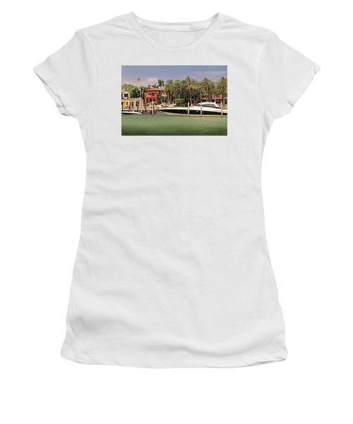 Miami Style Women's T-Shirt (Athletic Fit)
