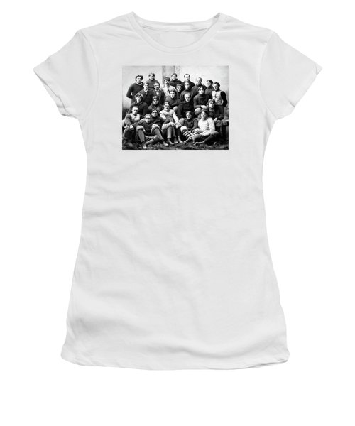 Michigan Wolverines Football Heritage  1895 Women's T-Shirt (Athletic Fit)