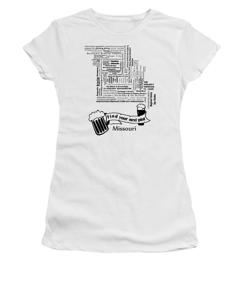 Micro Brew Missouri Women's T-Shirt (Athletic Fit)