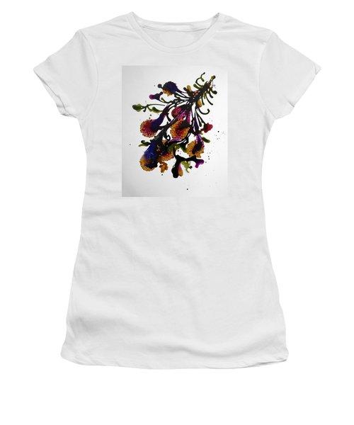 Midnight Magic-2 Women's T-Shirt (Junior Cut) by Alika Kumar