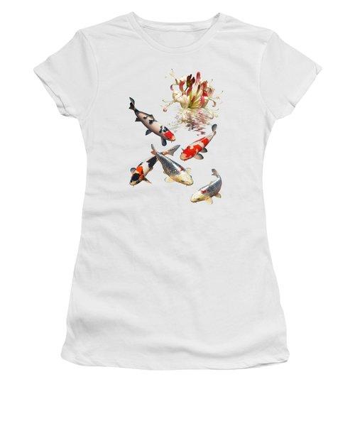 Midnight Reflections Women's T-Shirt (Junior Cut)