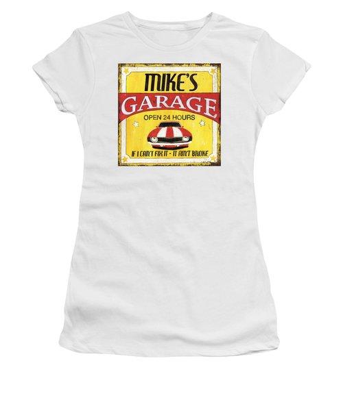 Mike's Garage Women's T-Shirt
