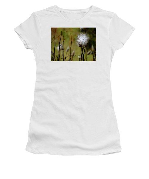 Milkweed In A Field Women's T-Shirt
